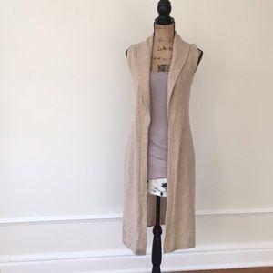 Calypso vest 100% cashmere NWT XS soft as a cloud